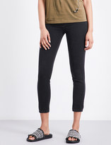 The Kooples Franky cropped skinny mid-rise jeans
