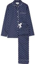 Three J NYC Jamie Printed Cotton-poplin Pajama Set - large