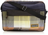Brunotti Unisex - Adult Reporter Gradient Check Electric Messenger bags