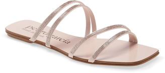 Pedro Garcia Kalene Crystal Embellished Slide Sandal