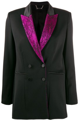 Styland Floral Lace Lined Blazer
