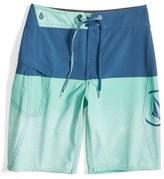 Volcom Boy's Lido Logo Mod Board Shorts