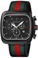 Gucci Coupe 44mm Chronograph Nylon Strap Watch-YA131202 Watches
