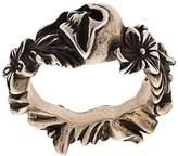 Werkstatt:Munchen floral skull ring