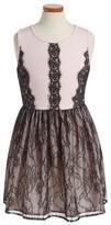 Ruby & Bloom Girl's London Lace Dress