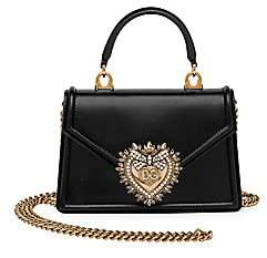 Dolce & Gabbana Women's Devotion Leather Top Handle Bag