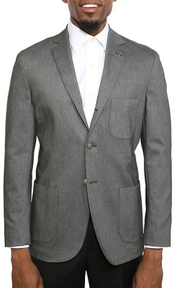 Michael Bastian Slim-Fit Notch Lapel Wool Jacket