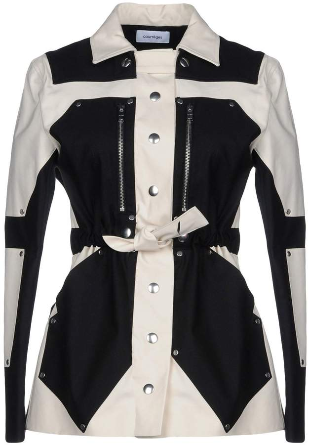 Courreges Overcoats