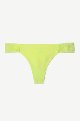 Ardene No-Show Neon Thong with Lace