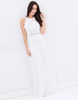 Andie Pleated Bridal Dress