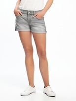 "Old Navy Boyfriend Raw-Edged Denim Shorts for Women (3"")"