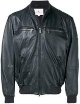 Peuterey zipped-up leather jacket