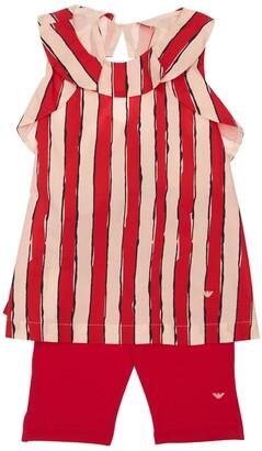 Emporio Armani Cotton Poplin T-Shirt & Leggings