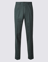 M&S Collection Pure Cotton Chinos with Active Waist