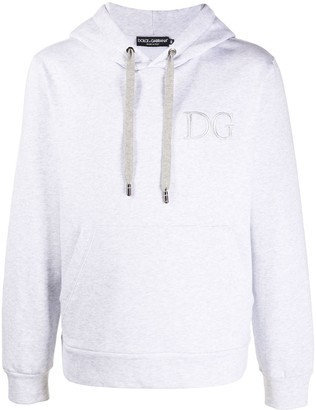 Dolce & Gabbana Embroidered Chest Logo Hoodie