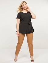 Lane Bryant Power Pockets Curvy Allie Modern Stretch Ankle Pant
