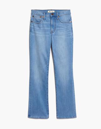 Madewell Cali Demi-Boot Jeans in Barnard Wash