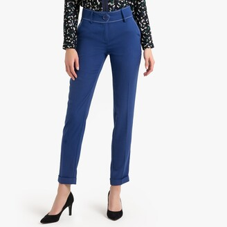 """Anne Weyburn Straight Ankle Grazer Trousers, Length 28.5"""""""