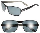 BOSS Men's 62Mm Polarized Sunglasses - Brown