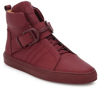 Bally Ankle-Length Leather Sneakers