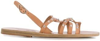 Ancient Greek Sandals Schinousa riveted sandals