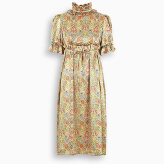 Aurore Van Milhem Printed silk Elis dress