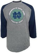 NCAA Notre Dame Fighting Irish Men's 3/4 Sleeve Raglan Shirt