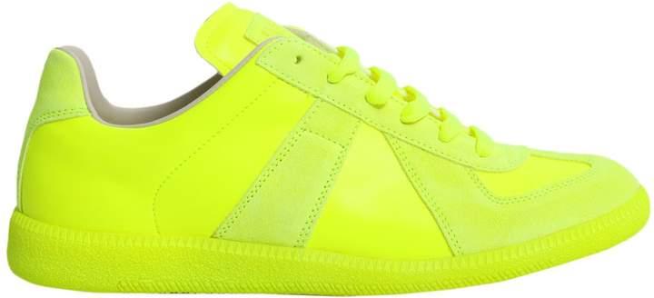 Maison Margiela Leather Sneakers