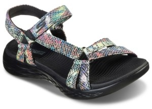 Skechers Women's On The Go 600 - Boa Athletic Sandals from Finish Line