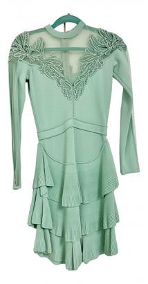 Elie Saab Green Viscose Dresses