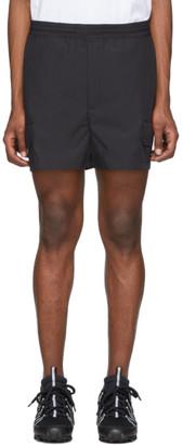 Neil Barrett Black Cargo Shorts