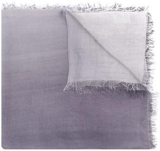 Faliero Sarti Frayed-Edged Silk Scarf