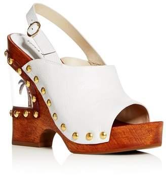 Sophia Webster Women's Paradise 140 Slingback Platform Wedge Sandals