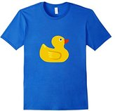 Rubber Duck Bath Toy T-Shirt Ducky Plastic Yellow Quack