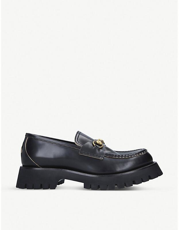 Black Platform Loafers For Women   Shop