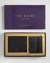 Ted Baker Wallet & Cardholder Gift Set in Leather