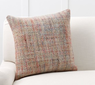 Pottery Barn Renly Wool Embroidered Pillow Cover