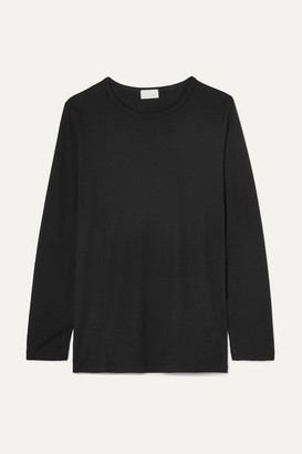 HANDVAERK Pima Cotton-jersey Top - Black