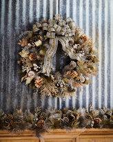 Mackenzie Childs MacKenzie-Childs Large Precious Metals Wreath