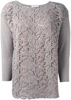 Fabiana Filippi lace front jumper