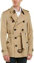 Burberry Sandringham Short Heritage Trench Coat