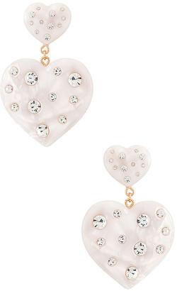 Dannijo Amante Pearl Earrings