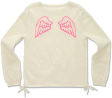 Marie Chantal Angel Wing Intarsia Sweater