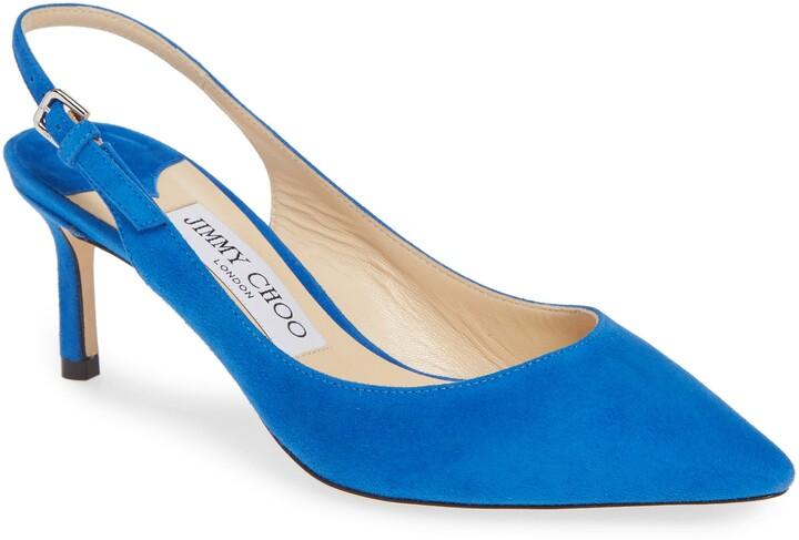 0dd1b910eb890 Jimmy Choo Blue Women's Shoes - ShopStyle