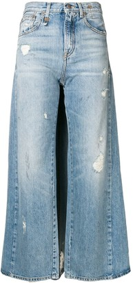 R 13 Skirted Jeans