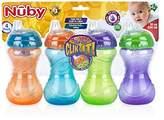 Nuby Clik It No Spill Cup 10 Oz 4 Packs