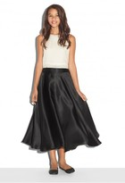 Milly Minis Satin Organza Bow Ball Skirt
