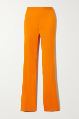 Versace Cady Bootcut Pants - Orange