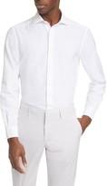Ermenegildo Zegna Classic Fit Garment Dyed Button-Up Shirt