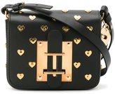 Sophie Hulme heart studded cross body bag